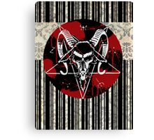 Barcode of the Beast Canvas Print