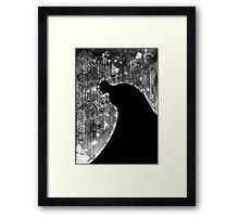 The Dark Knight Framed Print