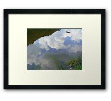 Water n Sky Framed Print