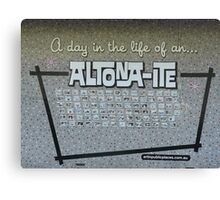 'A Day in the Life of an Altona-Ite' Canvas Print