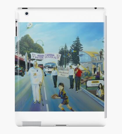Colourful Mural (detail), Altona  iPad Case/Skin