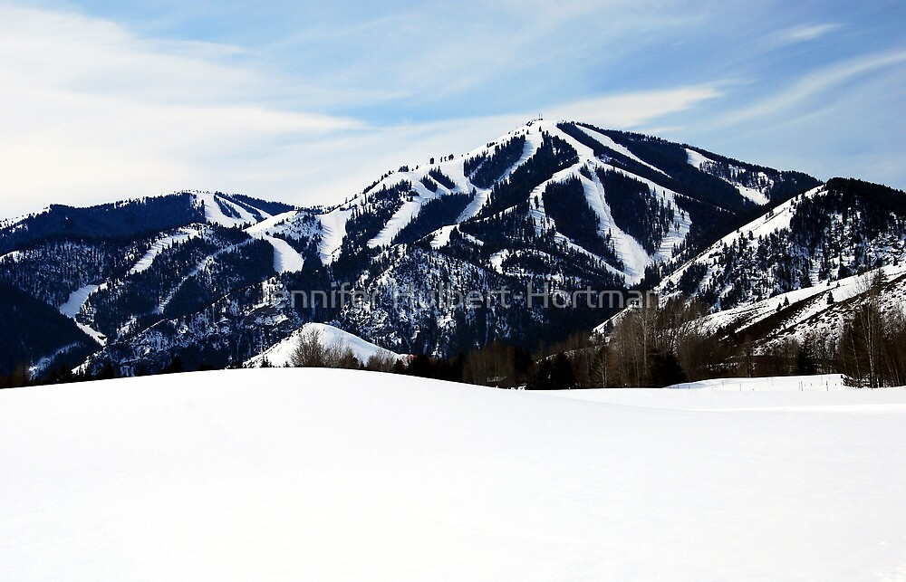 Bald Mountain, Sun Valley, Idaho by Jennifer Hulbert-Hortman