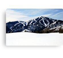 Bald Mountain, Sun Valley, Idaho Canvas Print
