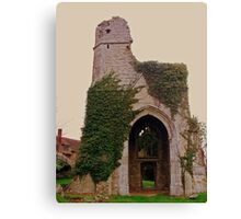 St Marys - Little Chart Canvas Print