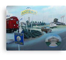 City of Altona, Mural (detail), Altona Canvas Print