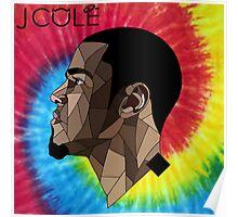 J.Cole - Tie Dye Poster