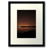 Calm Night Framed Print