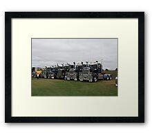Truck strength Brighton Tasmania Framed Print