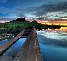 Little China Creek Dam by Matt Halls