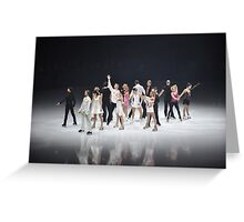 The Show goes on Greeting Card