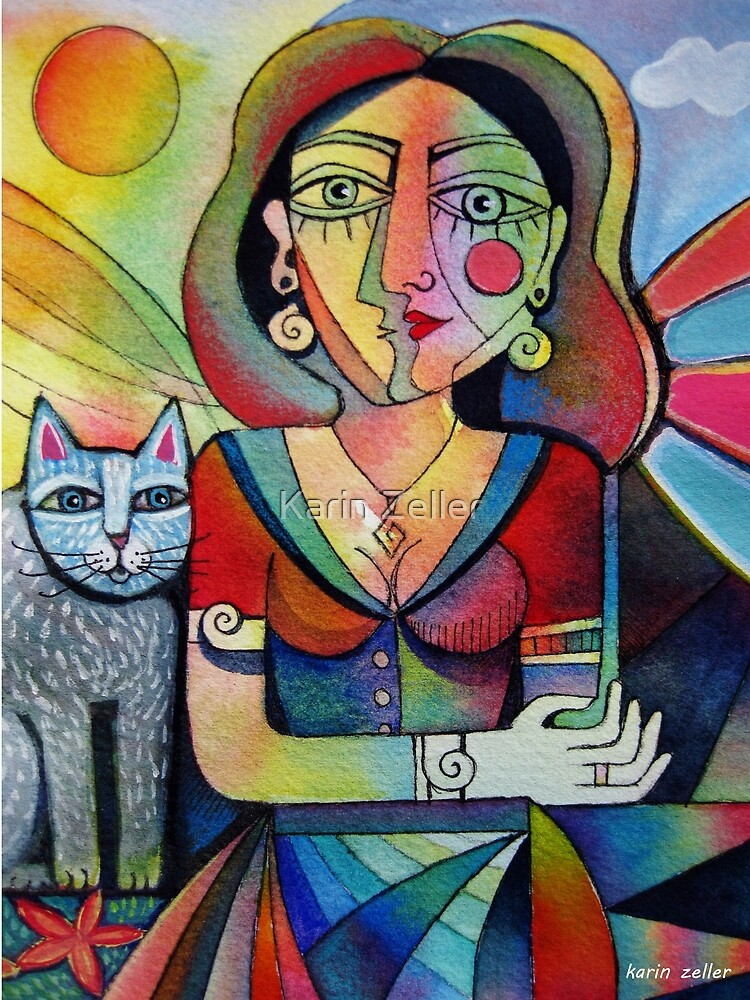 Picasso's Girlfriend by Karin Zeller