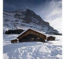 Beneath The Eiger Photographic Print