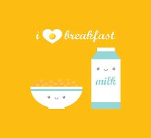 Cereal and Milk by gabdoesdesign