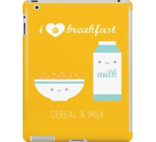 Cereal and Milk iPad Case/Skin