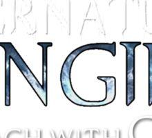 Supernatural Fangirl Sticker