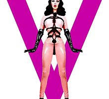 Queen V - Violet Chachki by aespinel