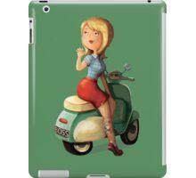 Scooter Girl iPad Case/Skin