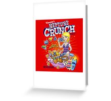 Veronica's Neptune Crunch Greeting Card