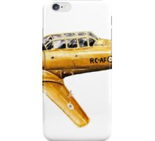 Yellow Plane Naive Art iPhone Case/Skin