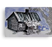 Under a Tin Roof Canvas Print