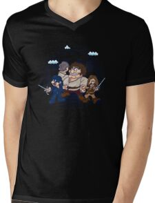 Have Fun Stormin' the Castle Mens V-Neck T-Shirt