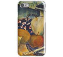 STILL LIFE WITH LEMON(C1994) iPhone Case/Skin