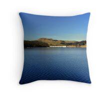 Ladybower Reservoir Throw Pillow