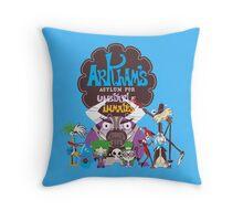 Bats Imaginary Friends Throw Pillow