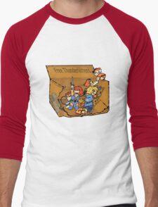 Free Thunderkittens Men's Baseball ¾ T-Shirt