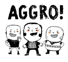 AGGRO Boys by colonelle