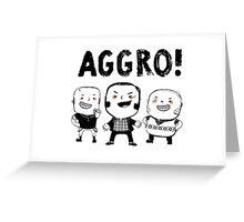 AGGRO Boys Greeting Card