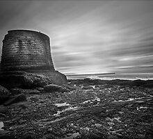 Heysham Fort  by Ian Parry