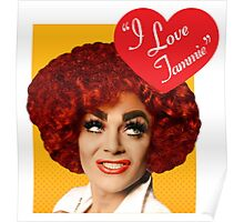 I Love Tammie Brown Poster