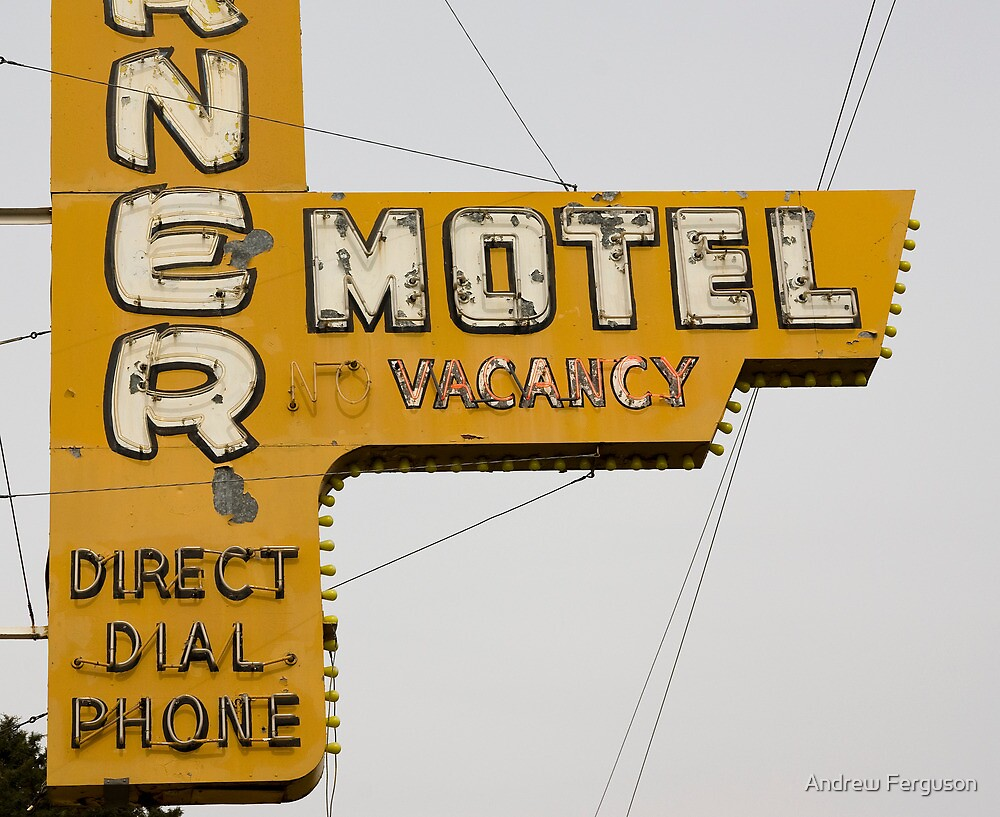 Westerner Motel. by Andrew Ferguson