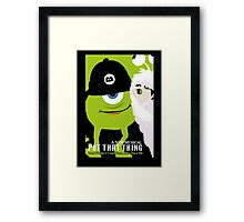 Wicked Inc. Framed Print