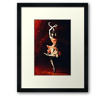 The Passion of Dance Framed Print