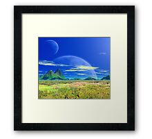 Across Pandoran Plains Framed Print