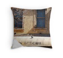 The Awning - Swanston Street, Melbourne Throw Pillow