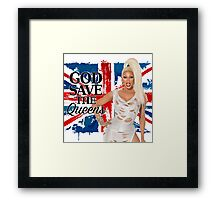 God Save The Queens Framed Print