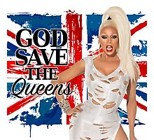 God Save The Queens Photographic Print