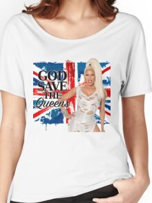 God Save The Queens Women's Relaxed Fit T-Shirt