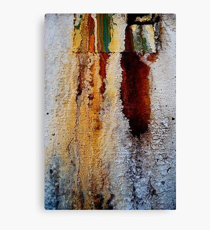 Bleeding Patina Canvas Print