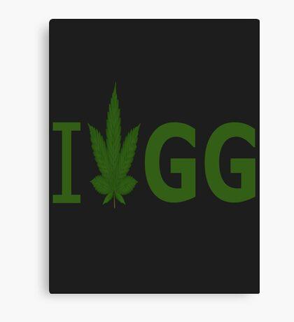 I Love GG Canvas Print