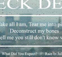 Neck Deep Rain In July Sticker