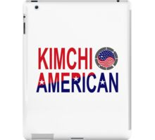 Kimchi American Multinational Patriot Flag iPad Case/Skin