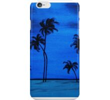 Moonlit Atoll iPhone Case/Skin