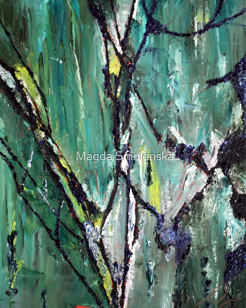 Leaf by Magda Smolenska