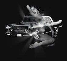 Marilyn Monroe, Cadillac Eldorado  by Cliff Vestergaard