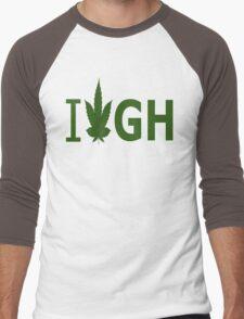 I Love GH Men's Baseball ¾ T-Shirt