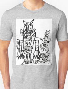 Catbot Mech by Roo8rz T-Shirt
